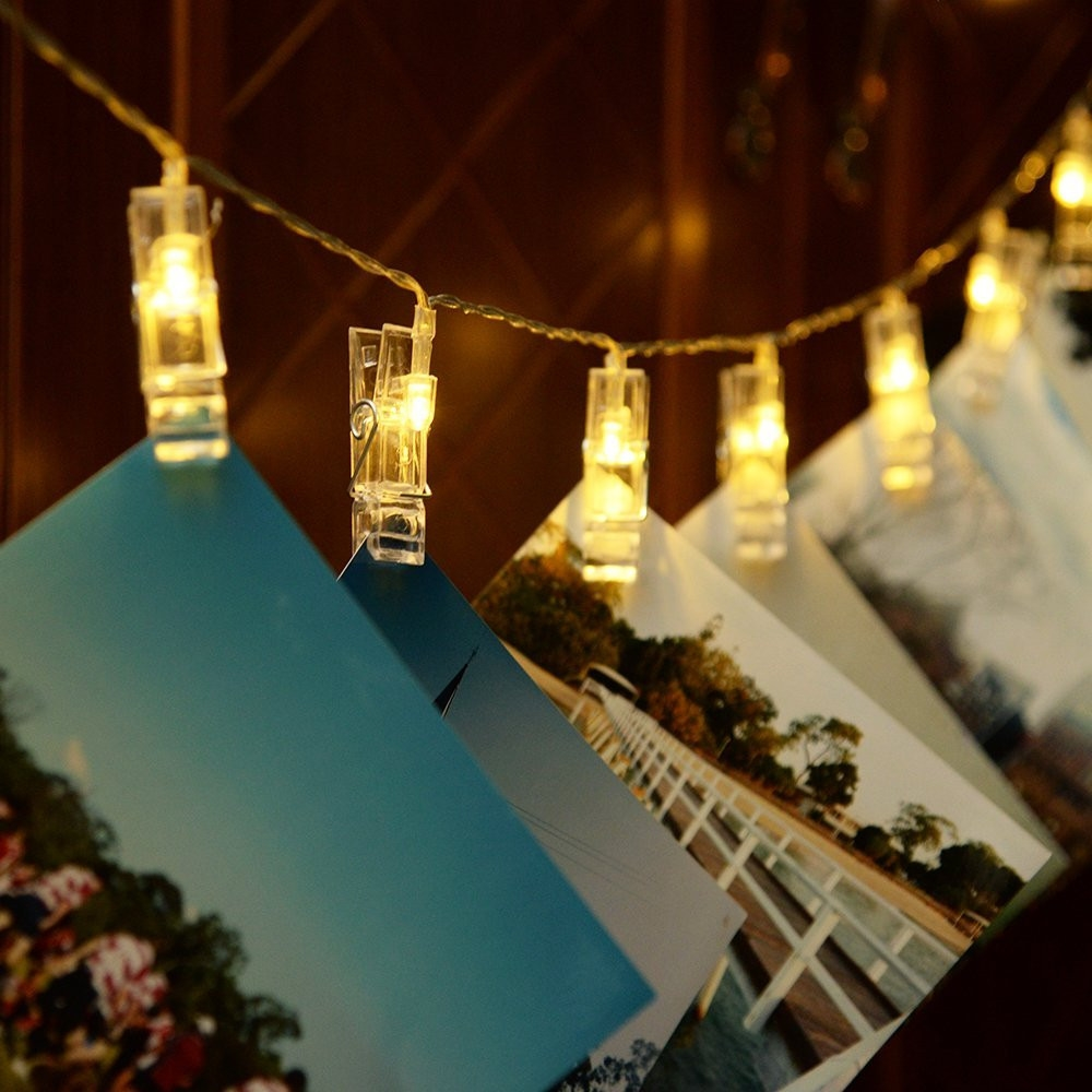 Fairy Lights And Led Strip Lights Bedroom