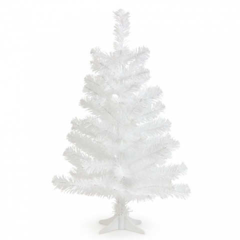 2ft PVC Tabletop Full Christmas Tree – White - 6ft Crystal White Christmas Tree €� Theperfectco.com