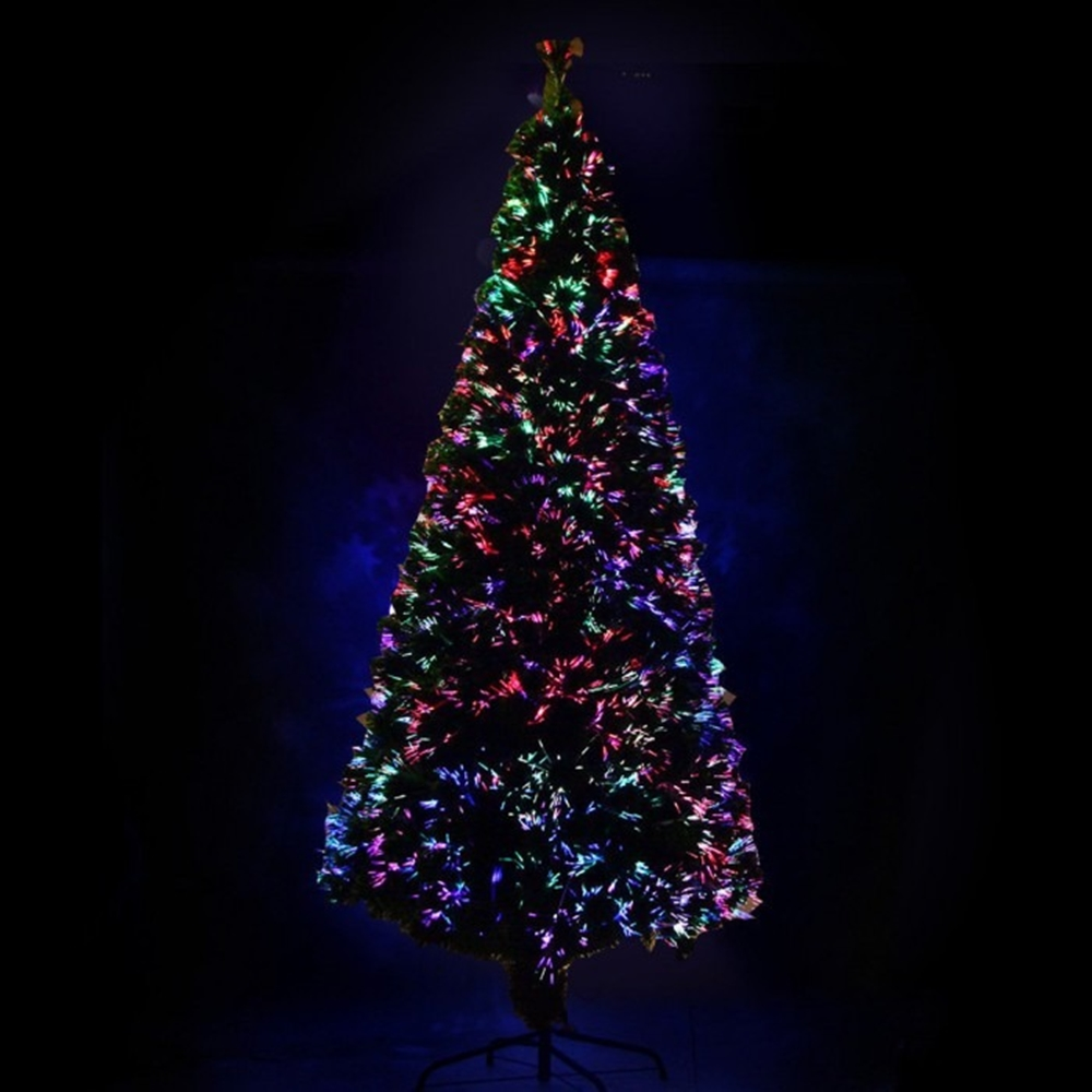 6ft Fiber Optic Christmas Tree Theperfectco Com