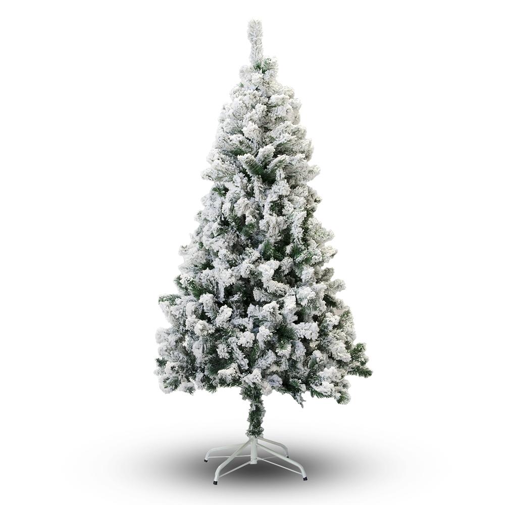 8 Ft Flocked Christmas Tree