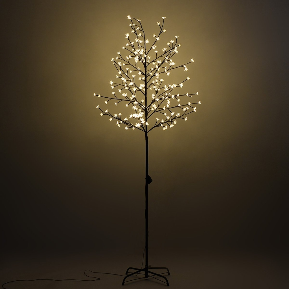 5ft 120l Lighted Cherry Blossom Tree Warm White