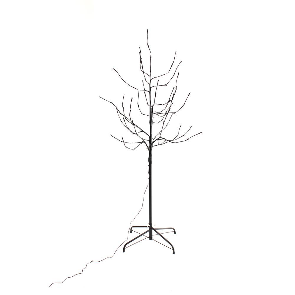 5ft 120l Lighted Twig Tree Pink Tl 5pk Pt